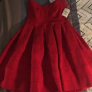 Very elegant strapless dress